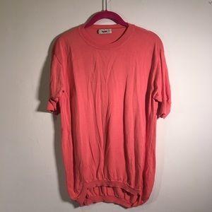 Acne Studios Pink Short Sleeve Sweater Top XS